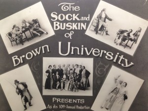 sock and buskin poster